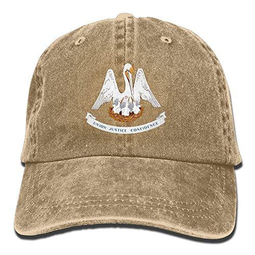Pants Hats Louisiana State Flag Cotton Adjustable Cowboy Hat Baseball Cap ForMan And Woman