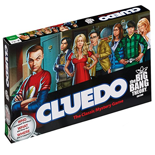 The Big Bang Theory Cluedo Mystery Board Game