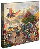 Thomas Kinkade Disney Dumbo 14x 14Galerie verpackt Leinwand