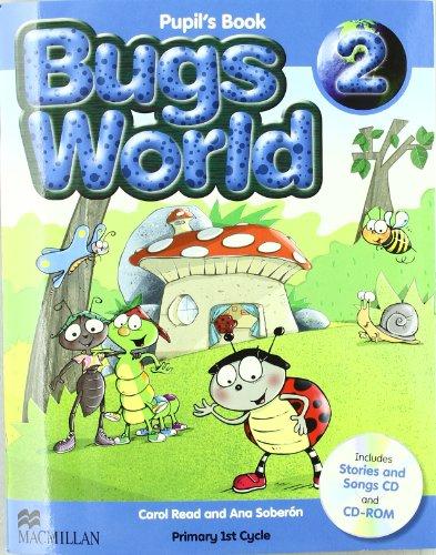 BUGS WORLD 2 Pb Pk (new C) - 9780230407480