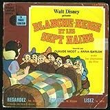 Livre-Disque Blanche-Neige et les 7 nains (Vinyle 45 Tours)