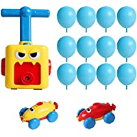 WTYQA Aerodynamic Balloon Car,Fun Inertia Balloon Powered Car Toys Inertial Power Balloon Car for Kids Gift (#01)