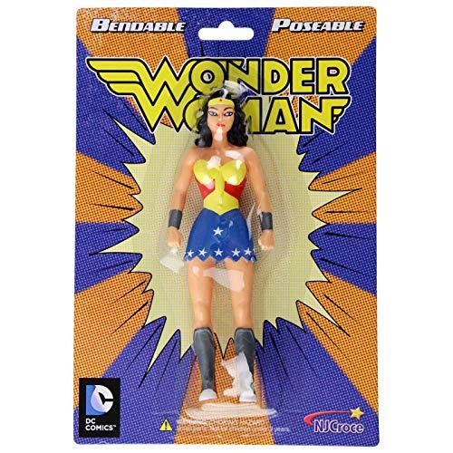 DC Comics Justice League Wonder Woman 5.5 inch Bendable Action Figure