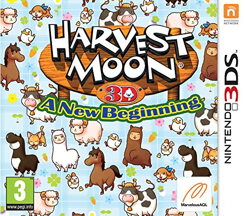 Price comparison product image Harvest Moon 3D: A New Beginning [Nintendo 3DS]