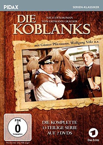 Die Koblanks / Die komplette 13-teilige Kultserie (Pidax Serien-Klassiker) [2 DVDs]