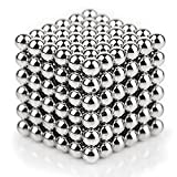 #7: Tissa Magnetic Sculpture Toys for Intelligence Development and Stress Relief, Silver