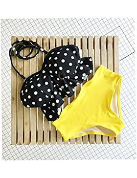 ZHANGYONG*Split costume da bagno bikini femmina 3 Pantaloni angolo incantevole contenuto montare anche le piccole...