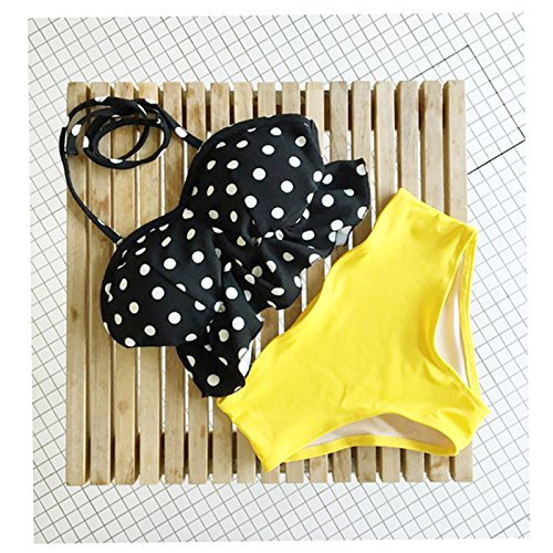 ZHANGYONG*Split costume da bagno bikini femmina 3 Pantaloni angolo incantevole