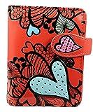 Shagwear portafoglio per giovani donne Small Purse : Diversi colori e design: (Modello di cuore / Heart Pattern)