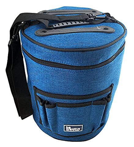 Yarn Storage Bag for Ultimate Organization. Portable, Lightweight and Easy to Carry Knitting/Crochet Yarn Holder (Womens Hard Cap)
