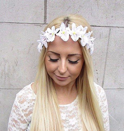 Blanco-tropicales-orqudea-guirnalda-de-flores-diadema-de-pelo-corona-de-flores-hawaianas-2482-Exclusivamente-Se-Vende-por-STARCROSSED-Boutique