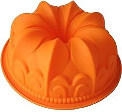 Original GMMH Silikonbackform Kugelhupf Kuchen Backform Kuchenform Brotbackform Obstbodenform