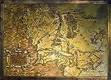 The Hobbit Karte Herr d.Ringe Lord of the Rings M