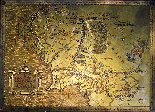 Mapa Hobbit