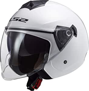 Ls2 Motorradhelm Of573 Twister Ii Single Mono Weiss Weiss Xs Auto