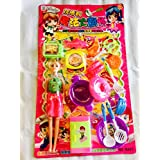Shopperz Doll With Kitchen Set In One Pack