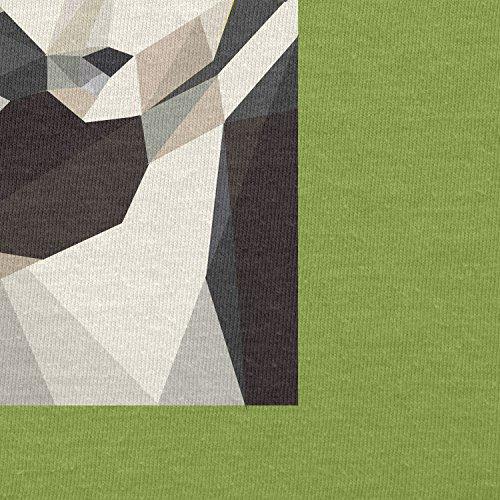 Texlab–Low Poly Trooper–sacchetto di stoffa Verde chiaro
