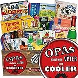 Opas sind wie Väter nur cooler | Spezialitätenbox | Geschenkideen | Opas sind wie Väter nur cooler | Ostalgie Geschenkset | Geschenk Opa | GRATIS DDR Kochbuch
