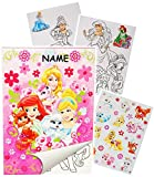 Unbekannt Sticker & Malblock -  Disney Princess - Prinzessin - Palace Pets  - Incl. NA..
