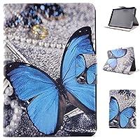 Kindle Paperwhite Custodia, Amazon Kindle Paperwhite Flip Folio Cover,Asnlove Elegante Custodia in Flip Pelle PU (Bloom Specchio)