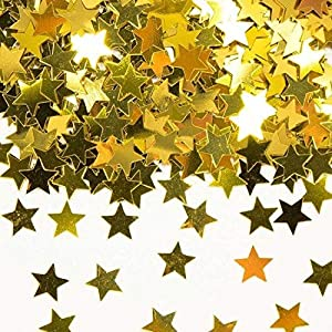Folat 15g Confeti Estrella Oro Cumpleaños Mesa Decorativa Aniversario