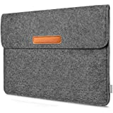 Inateck 10,5 Zoll iPad Pro/9,7 Zoll iPad Pro/9,7 Zoll iPad Air/ Samsung Galaxy Tab S Filz Sleeve Hülle Ultrabook Dunkelgrau
