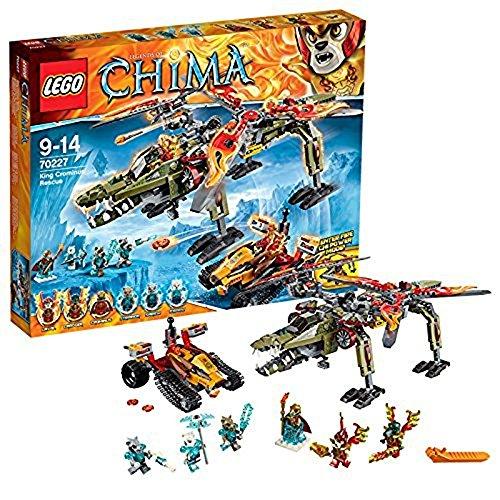 LEGO Legends of Chima 70227 - König Crominus - Lego König