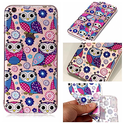 Cover iPhone 6/ 6s Plus, Sportfun morbido protettiva TPU Custodia Case in silicone per iPhone 6/ 6s Plus (modello 5) modello 5