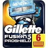 Gillette Fusion5 ProShield Chill scheermesjes, per stuk verpakt (1 x 6 stuks)