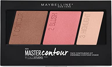 Maybelline New York Face Studio Master Contour Palette, Medium to Deep, 10g