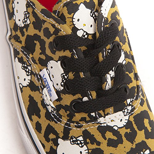 Vans Authentic VJXI4LL Unisex - Kinder Lauflernschuhe (Hello Kitty) Leopard / True White