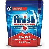 Finish All in 1 Dishwasher Detergent Tablets, Original, 42 Tablets