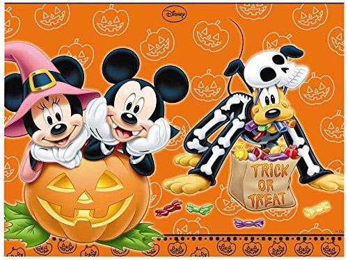 Kunststoff Mickey Maus Halloween Tischdecke, 1,8m x (Party Halloween Dekorationen Disney)