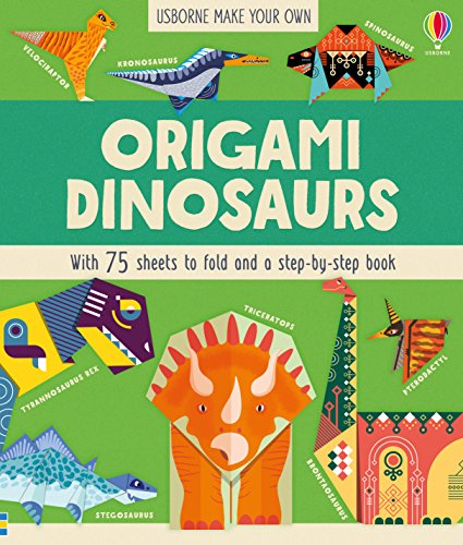 Origami Dinosaurs por Lucy Bowman