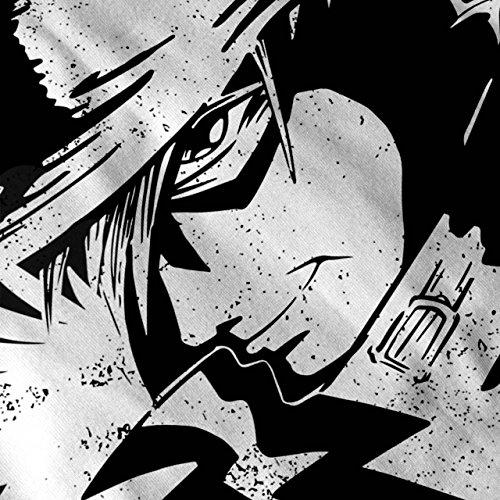 Anime Cool Japan Fantasie Detektiv Damen S-2XL Muskelshirt | Wellcoda Schwarz