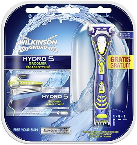 Wilkinson Sword Hydro 5 Groomer Vorteilspack,  5 Klingen plus Rasierer