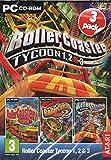 Rollercoaster Tycoon 1, 2 & 3 (PC CDROM)