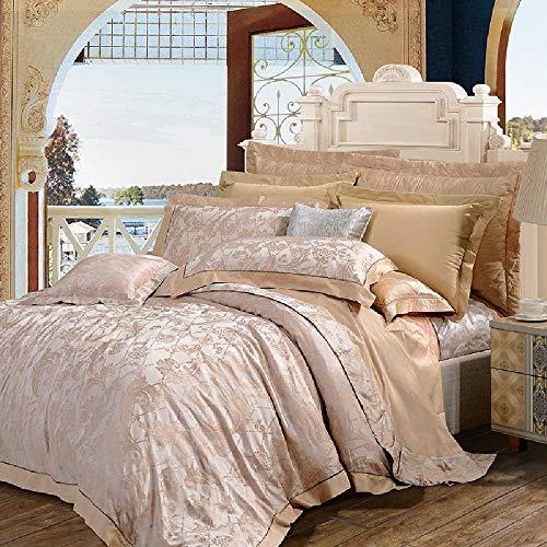 CHINCI GUO Vier Stück Europäische Betten MIT bettwäsche aus Baumwolle - Prinzessin Jacquard - Decke Betten Mailand - Stil - Echo Design-bettwäsche-bettdecken