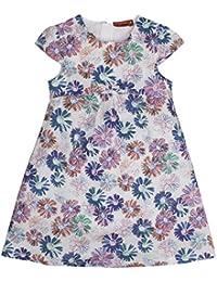 Salt & Pepper Dress Bunte Blumen Schleife, Vestido para Niños
