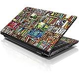 """lss 15""""y 15,6pulgadas portátil Skin para adhesivo decorativo para 13,3"""" 14""""15.6"""" 16""""Libros de HP, DELL, Lenovo, Apple, ASUS, Acer, Compaq (Incluye 2Wrist Pad)"""