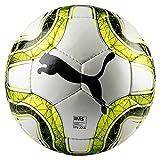 Puma Final 4 Club (IMS APPR) Size 4 Balón de Fútbol, Unisex, White/Lemon Tonic/Black, 4