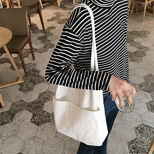 LAAT, Borsa a spalla donna As picture show 34*36*6 White