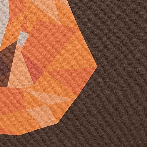 Texlab T-Shirt - Collo a U - Maniche Corte - Uomo Marrone