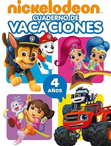 Cuaderno de vacaciones Nickelodeon. 4 años por Nickelodeon Nickelodeon