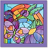 Melissa & Doug 14264 Rainbow Garden made Easy Stained Glass