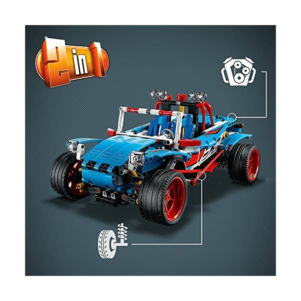 LEGO- Technic Auto da Rally, Multicolore, 42077 4 spesavip