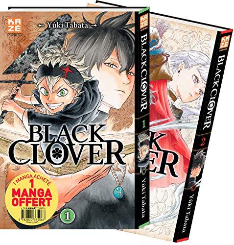 Black Clover - Pack Découverte T01 & T02 (KAZ.COFFRET) por Yuki Tabata