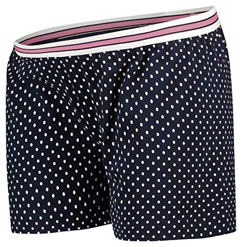 Noppies Kurze Pyjamahose Pyjama Hose Damen Umstandsmode Nachtwäsche 66603 (L, Night Sky AOP)