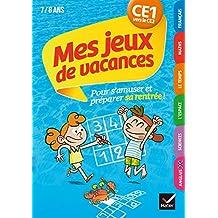 Mes jeux de vacances du CE1 vers le CE2- Cahier de vacances