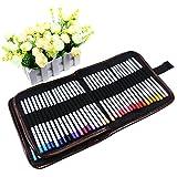 XCSOURCE® 72 Retro Leinwand Buntstift Wrap / Roll Up-Buntstift-Kasten / Buntstifte Case / Roll Up Buntstift Taschen-Hal
